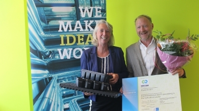 M-plastics behaalt eerste Cradle to Cradle certificering in de agri- en sierteeltbranche - M-plastics