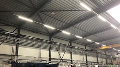 M-plastics switches to sustainable LED lighting - M-plastics